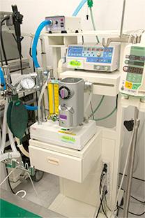 全身麻酔器・人工呼吸器